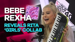 Video Bebe Rexha reveals Rita Ora's Girls collab with Charli XCX & Cardi B and music video MP3, 3GP, MP4, WEBM, AVI, FLV Mei 2018