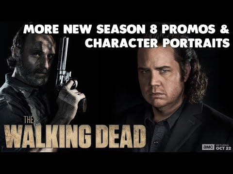 More NEW Character Portraits for The Walking Dead Season 8