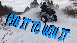 10. Watch Yamaha Grizzly 700 RIP the Snow