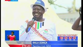 Raila aongoza kampeni za NASA Kajiado SUBSCRIBE to our YouTube channel for more great videos: https://www.youtube.com/ ...