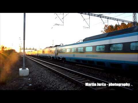 Pendolino Train - Blatov - Czech Republic - 19.10.2014