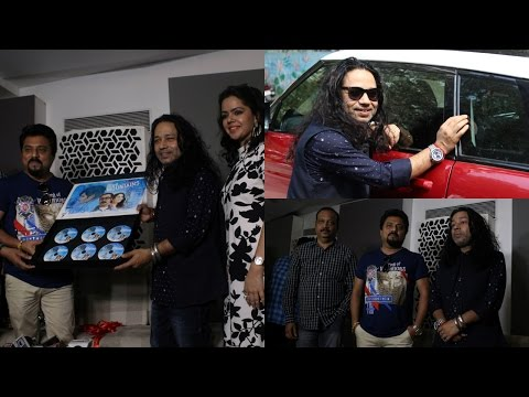 Kailash Kher Song Launch Of 'Vote Do' For Movie Blue Mountains