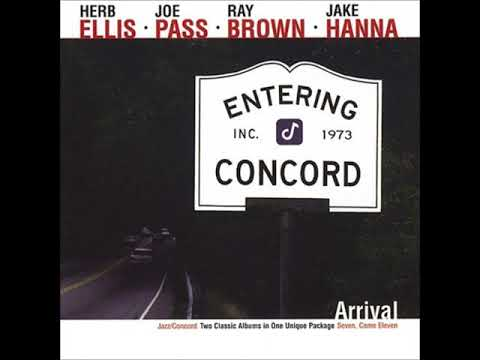 Herb Ellis, Joe Pass, Ray Brown, Jake Hanna ‎– Arrival (Full Album)