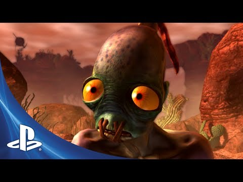 Oddworld New n Tasty trailer remake of the classic Oddworld Abe s