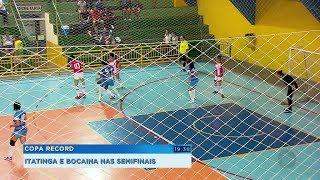 Itatinga e Bocaina se classificam para as semifinais da série Prata da Copa Record