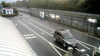 Nurburgring Gate Webcam Timelapse September 29, 2010