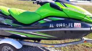 8. 2011 Kawasaki Ultra 300X for sale at MarineMax Gulf Shores