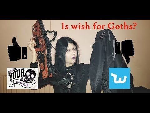 Was this Gothic Wish Haul a disaster? A Warning for others / Rock Your Sole Halloween Boot Review