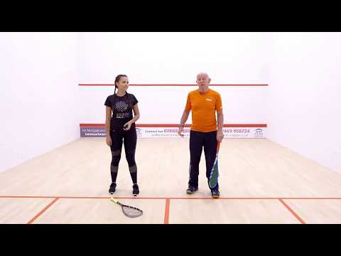 Squash tips: Beginner practices with Bryan Patterson