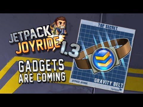 "Jetpack Joyride Gadgets Update ""Gravity Belt"""