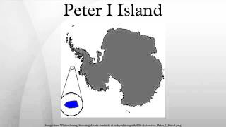 Peter I Island is an uninhabited volcanic island in the Bellingshausen Sea, 450 kilometres from Antarctica. It is claimed as a...
