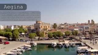 Aegina Greece  City new picture : AEGINA - Αίγινα - Greece (aerial video)
