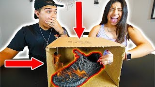 What is in the box!? The challenge was fire! We put yeezys in it!$100 GIFTCARD GIEVAWAYhttps://gleam.io/8GL0M/gamestopxboxpsn-gift-cards-from-legitlooks-and-overtflowMORE DAILY EPISODES HEREhttps://www.youtube.com/playlist?list=PLL_I76GNm_F6drpVNfkeXnSsScJyNVqXG- CRAZY DEALS HERE!!http://www.legitlooksforlife.bigcartel.com- PO BOX (SEND ME SOMETHING)P.O. Box #14043 Zip- 78214 San Antonio, TX- SOCIAL MEDIA (FOLLOW ME)Instagram: https://instagram.com/timtheactorTwitter: https://twitter.com/theactortimSnapChat: https://snapchat.com/add/timtheactormusic by: www.soundcloud.com/engelwoodmusicFor business inquires please contact : LegitBookTim@yahoo.com