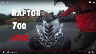 10. Stolen/ Theft: Yamaha YFM Raptor 700 GYTR / American Import Special Edition