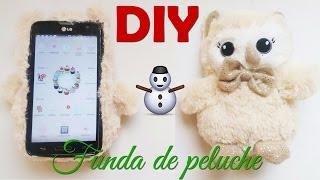 DIY  Funda de peluche   Navideño