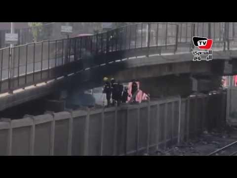 الحماية المدنية تسيطر على حريق بجوار «موقف بولاق»