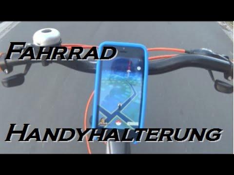 Pokemon Go Handyhalterung Fahrrad selber bauen