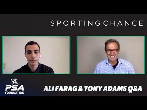 Ali Farag meets Tony Adams - Sporting Chance & PSA