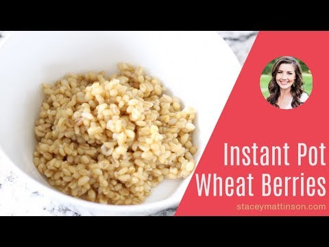 Instant Pot Wheat Berries
