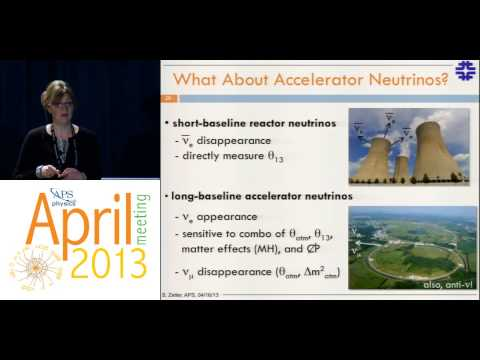 Neutrino - Dr. Geralyn Zeller (Fermi National Accelerator Laboratory) presents at the APS April Meeting 2013 in Denver on recent results from neutrino oscillation exper...