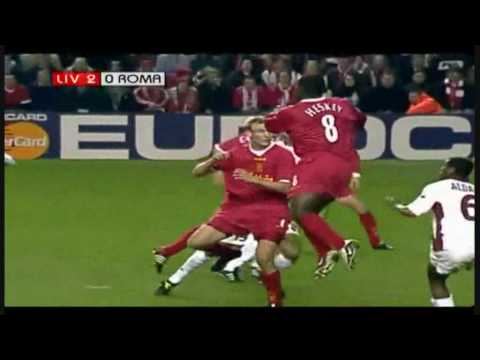 Liverpool - Roma, 19 de marzo del 2002
