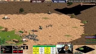 4vs4 Random | Liên Quân vs Sky + Gunny | Ngày: 10-10-2018. BLV: Hải MariO
