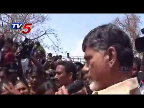 Chandrababu Serious on Cyclone Victims : TV5 News