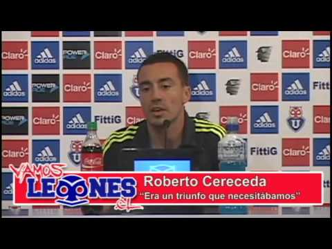 Vamos Leones TV - Conferencia de prensa Roberto Cereceda