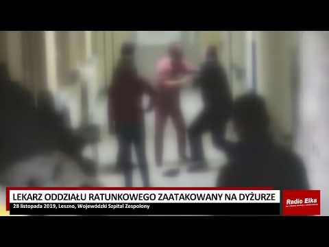 Wideo1: Lekarz zaatakowany na dyżurze