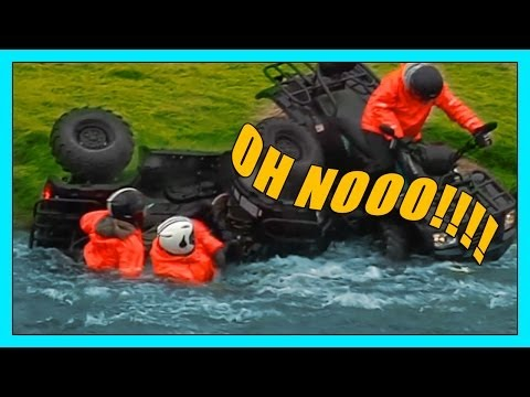 EXTREME ATV CRASH%21 %23projectmitty