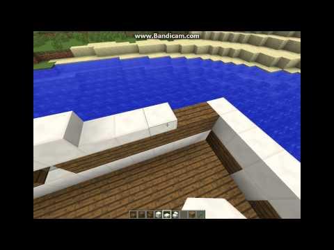 мир машиним craft #1 дом на воде