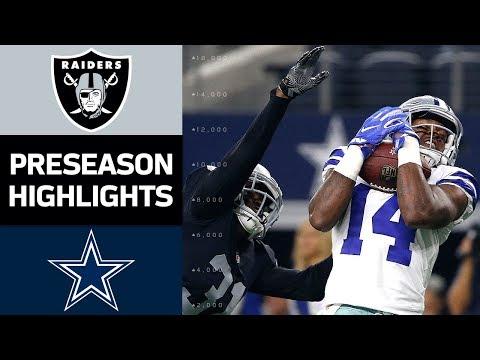 Raiders vs. Cowboys | NFL Preseason Week 3 Game Highlights - Thời lượng: 6:57.