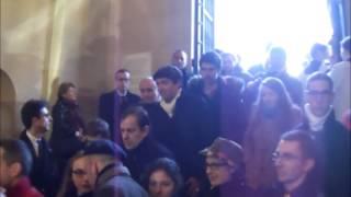 Les Chapelles-Bourbon France  city photos gallery : Sortie de la Chapelle Expiatoire avec Louis XX - 17 janvier 2015