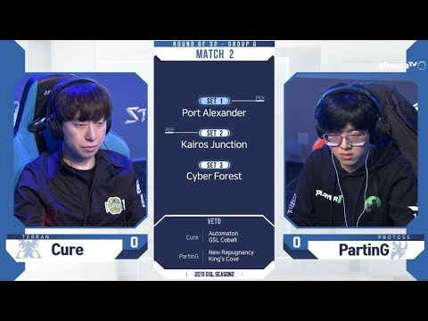 [2019 GSL S2] Ro.32 Group G Match2 Cure Vs PartinG