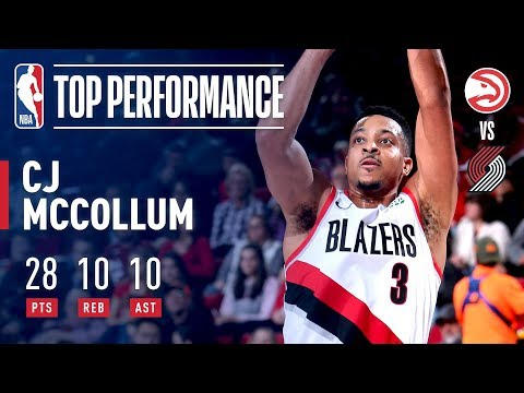 Video: CJ McCollum Records His First Career Triple-Double In Win vs ATL!   January 26, 2019