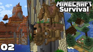 Let's Play Minecraft Survival : This Seed is AMAZING! Episode 2