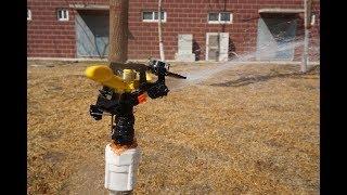 "Plastic sprinkler 1/2"" youtube video"