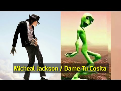 Dame Tu Cosita / Micheal Jackson Robot Dance Version 2018