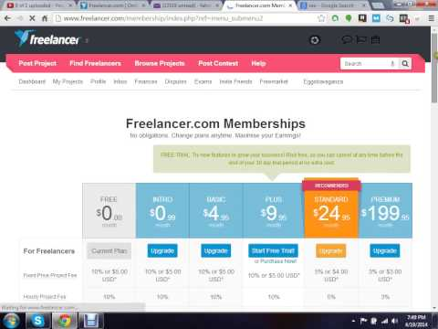 How to Create a Freelancer.com account to earn money from Internet