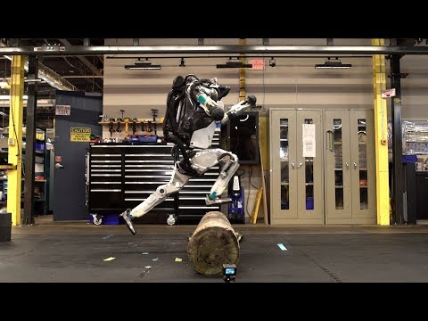 Atlas, robot, piste, boston dynamics