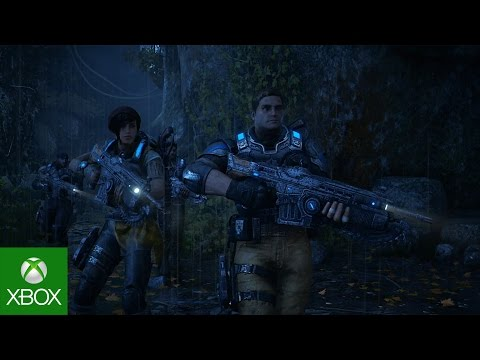 Gears of War 4 en vidéo de gameplay