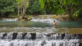 Salto los Bueyes y los Jacuzzis Naturales de Arroyo Grande | WilliamRamosTV