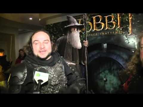 Sherbrooke costumé pour Le Hobbit