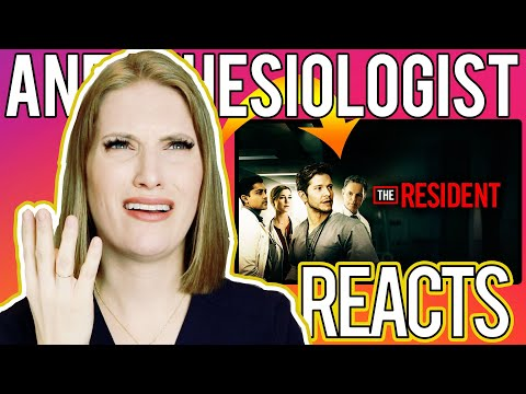 ANESTHESIOLOGIST Doctor REACTS to THE RESIDENT