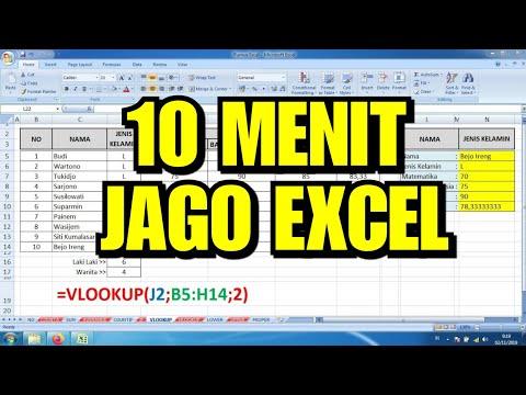 11 Dasar Rumus Excel untuk Admin Kantor