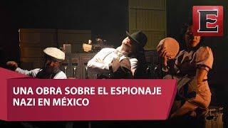 """El actor Ángel Luna presenta la puesta en escena """"El sapo y las minas de mercurio"""", historia que relata e espionaje nazi en México. Todos los detalles en el video.16 de julio 2017COMENTA ESTE VIDEO Y COMPARTELO CON TUS AMIGOSPara más información entra: http://www.youtube.com/excelsiortvNo olvides dejarnos tus comentarios y visitarnos enFacebook: https://www.facebook.com/ExcelsiorMexTwitter: https://twitter.com/Excelsior_MexSitio: http://www.excelsior.com.mx/tvSuscríbete a nuestro canal: https://www.youtube.com/channel/UClqo4ZAAZ01HQdCTlovCgkA"""