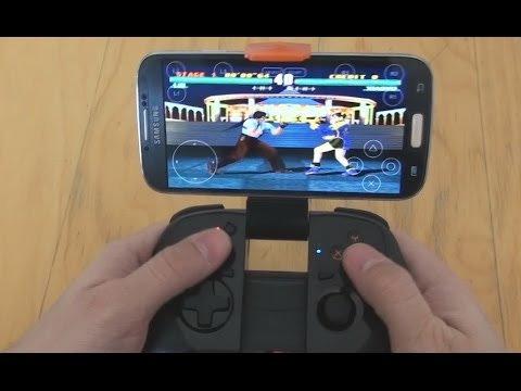 MOGA HERO Controller With Emulators On Samsung Galaxy S4 (видео)