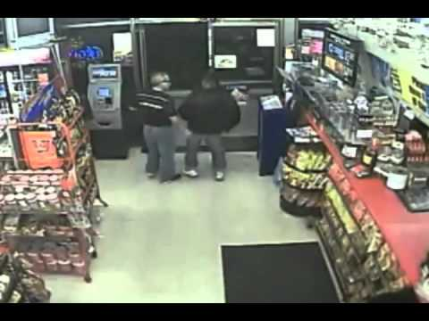 y0utube - TUCSON - Maen Mdanat doesn't put up with any shenanigans. As the owner of Axis Food Mart on Broadway near Campbell, he shows would-be thief who's boss.