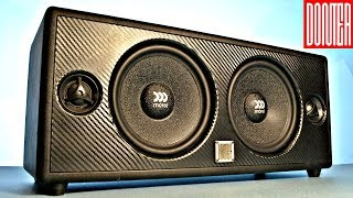 INSANELY Loud 150W DIY Bluetooth Speaker Build l HOW TO