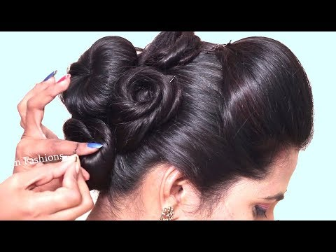 Beautiful Hairstyles for party/wedding/function  Side braid hairstyles  hairstyles  2019